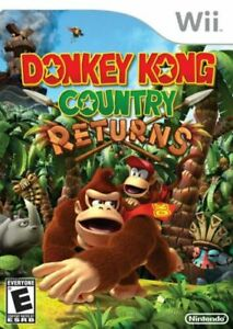 Donkey Kong Country Returns (Nintendo Wii, 2010) COMPLETE TESTED