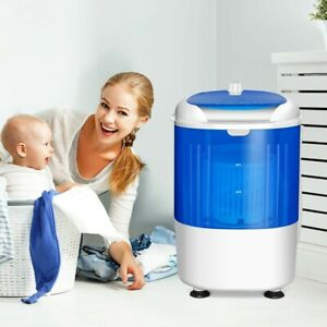 5.5lbs Portable Mini Compact Washing Machine Electric Laundry Spin Washer Dryer