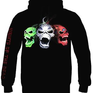 Iron Maiden-Legacy of the Beast Live in Mexico offizieller lizenzierter Hoodie