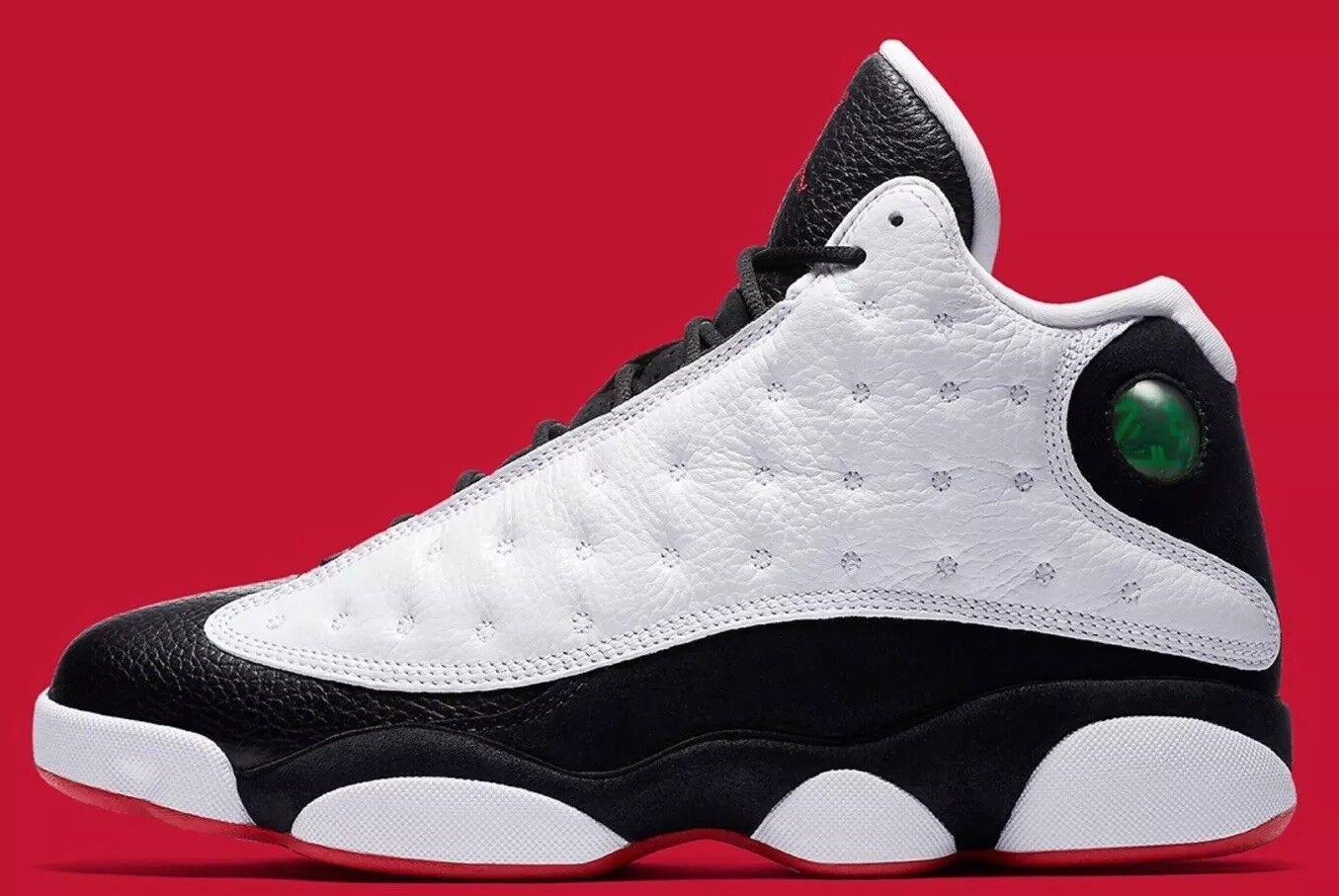 Jordan 13 Retro BP 414575-104 White Red Black DS Size 1y  e0bd9a6bb