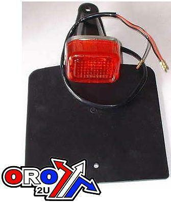 new Universal Rear Light with Mudflap / Number Plate Holder yamaha replica type