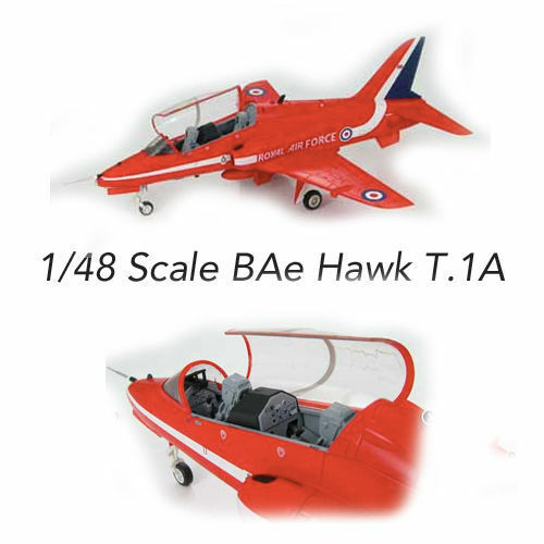 Squadron Wings 1 48 BAe Hawk T1A Red Arrows Die cast Limited Edition  New