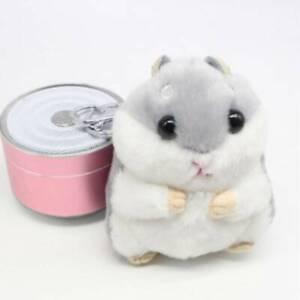 Diy-Car-Keychain-Chain-Bag-Pendant-Cartoon-Plush-Toy-Hamster-Doll-Keychain-N7