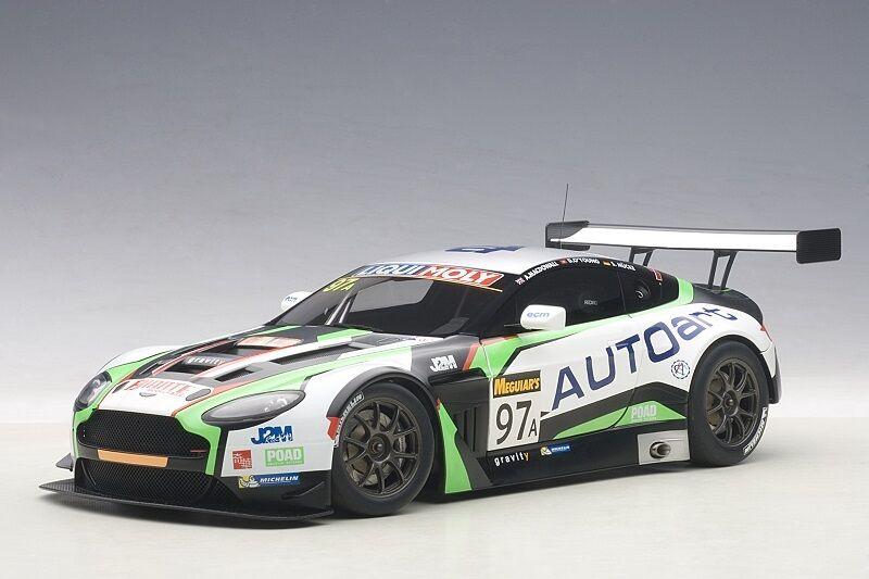 81506 Aston Martin V12 Vantage Bathurst 12hrs 2015 nr 97 , 1 18 Autoart