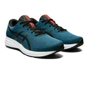 Asics-Hommes-Patriote-12-Chaussures-De-Course-Baskets-Sneakers-Vert-Sport-Respirant