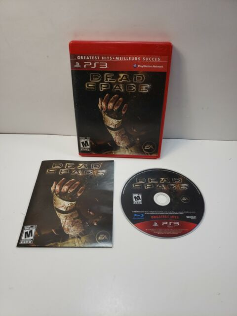 Dead Space - Greatest Hits (Playstation 3, PS3, 2008) with Manual TESTED