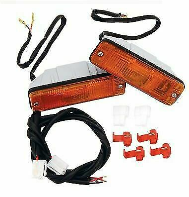 Bulb /& Harness includes Lens ARB 3500080 Turn Signal Indicator Pair Gasket