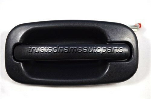 for GMC Chevy Outside Outer Exterior Door Handle Driver Side Rear Left Textured