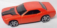 2007 Hot Wheels New Model Dodge Challenger Concept #001-Metal Flake Orange Paint