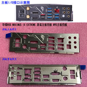 1pcs-IO-I-O-Shield-FOR-ASUS-ROG-MAXIMUS-IX-EXTREME-IO-I-O-Shield-Back-Plate