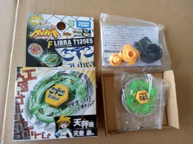 Takara Tomy Beyblade Bb48 Booster Flame Libra T125es Without