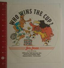 Aufkleber/Sticker: Pro Penn DTB Official 1989 (110117125)