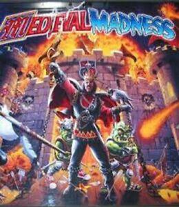 Medieval Madness Pinball Machine Manual