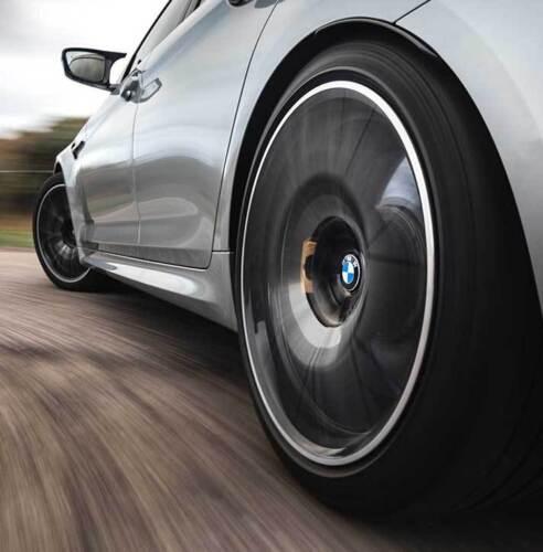 Genuine BMW galleggianti lega ruota centro CAP SET 36122455268 ** 56mm **