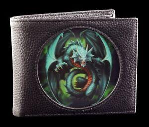 Fantasy-Porte-Monnaie-Noir-avec-3D-Dragon-Jade-Emerald-Dragon-par-Anne-Stokes