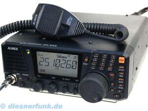 ALINCO-DX-SR-8-E-TRANSCEIVER-TRANSMITTER-TX-1-6-30MHz-100-W-HF-AM-FM-SSB-CW