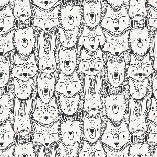 Wild Amigos de Pacha cápsula 100/% Tela De Algodón-telas de galería de arte