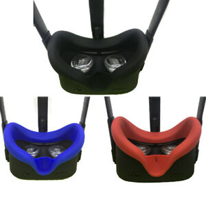 Anti-sweat-Soft-Silicone-Eye-Mask-Cover-Case-For-Oculus-Quest-VR-Light-Blocking