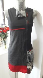 Robe originale de marque HIPPOCAMPE taille 36 S femme woman dress 6 8