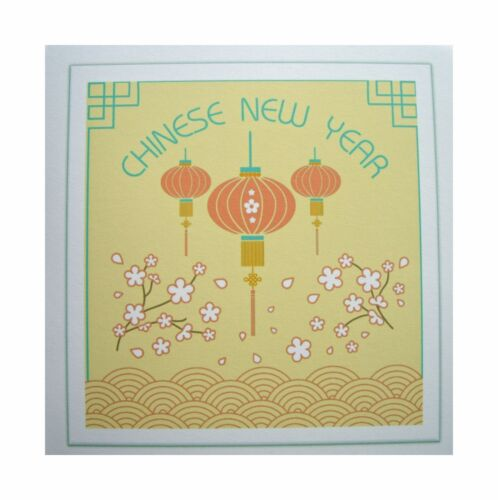 6 cards /& envelopes Chinese New Year cards Multi buy discounts available