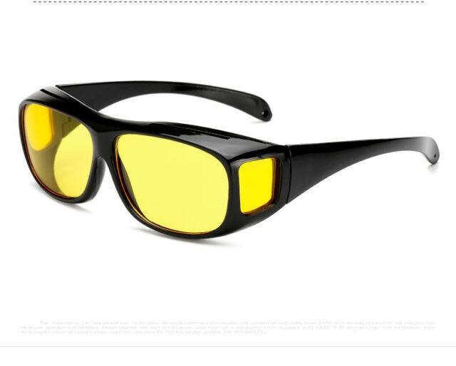 Sonnenbrille HD VISION Kfz-Nachtfahrbrille Überziehbrille polarisierend