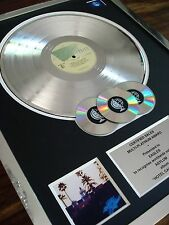 THE EAGLES HOTEL CALIFORNIA LP MULTI PLATINUM DISC RECORD AWARD ALBUM