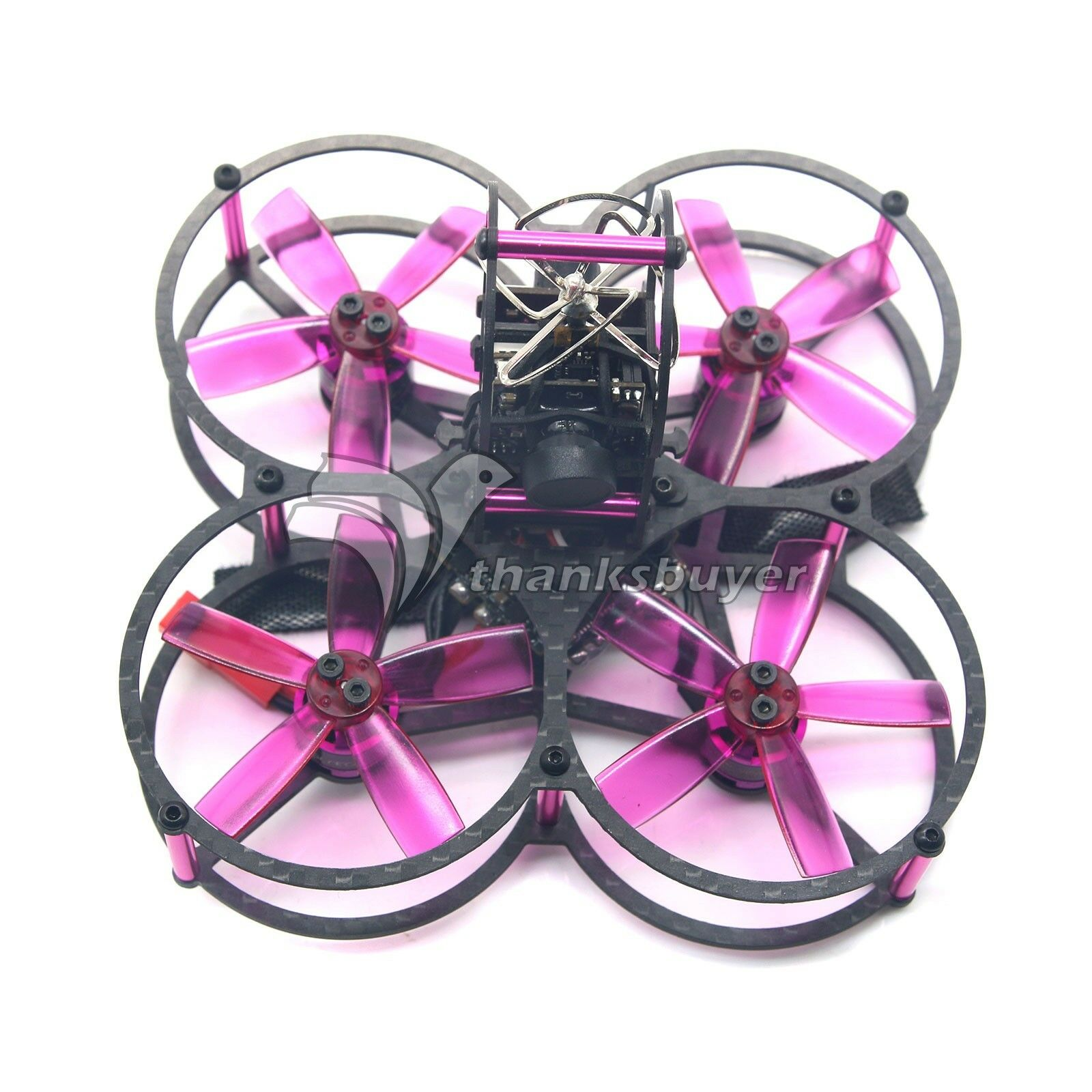 HGLRC XJB75 FPV Racing Drone 4 Axis Quadcopter with Camera Flight Control Combo