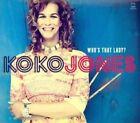 Who's That Lady? [Digipak] by Koko Jones (CD, Nov-2014, Motéma Music)