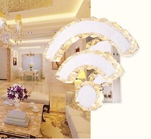 Netmodern Bedroom Lamp : New-Modern-Crystal-Wifi-shape-Wall-Lamp-Warm-Wihte-LED-light-lighting ...