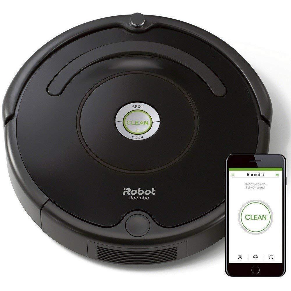 IRobot Roomba 671 Aspirateur Robot, Système de Nettoyage Puissant avec Dirt...