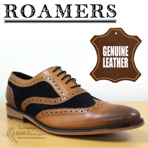 richelieu Classic cuir et intelligentes en daim Roamers Oxford Chaussures OEZwnRqnT