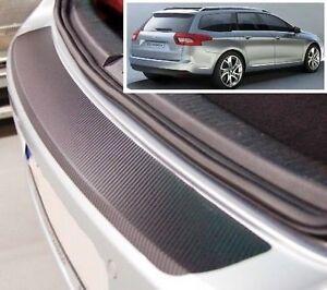 Citroen-C5-Tourer-Carbon-Style-rear-Bumper-Protector