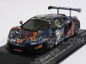 McLaren Mp4 / 12c Gt3 contre Ryan Racing 24h Spa 2013 B 1:43 Minichamps 437131388