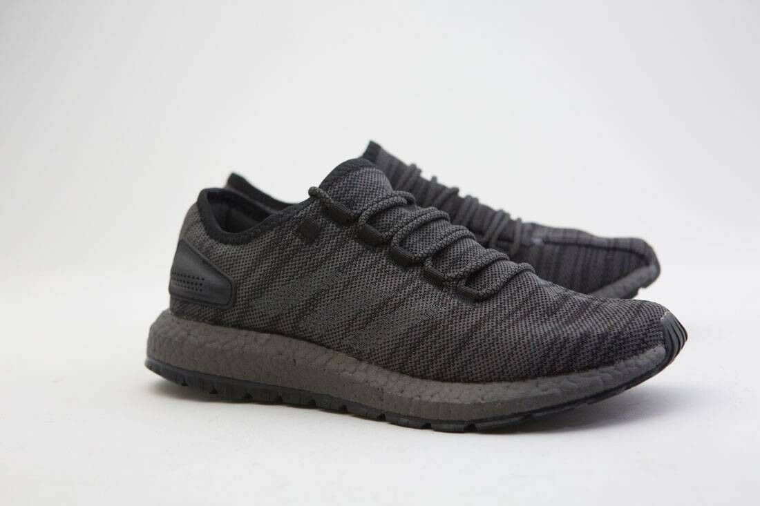 CG2990 Adidas Men solid PureBOOST All Terrain black solid Men grey trace grey metallic 2f2277