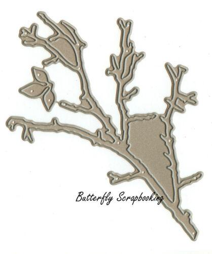 Bare Branch /& Leaf Die Cutting Dies by Impression Obsession DIE022-U New