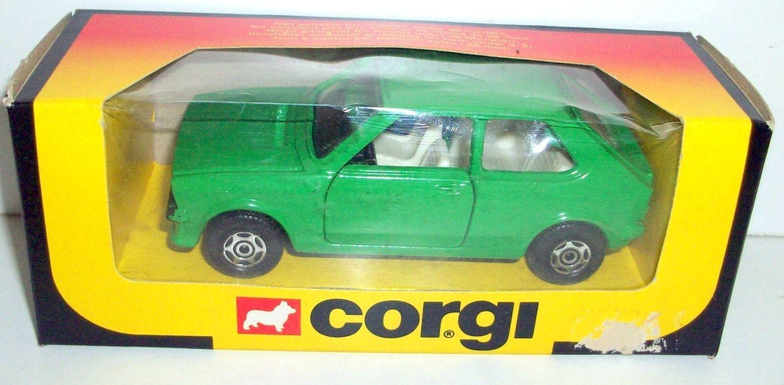 disfrutando de sus compras CORGI  - 603 VOLKSWAGEN VOLKSWAGEN VOLKSWAGEN POLO TURBO - verde  ventas en línea de venta