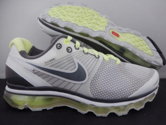 8f8323f7bef6 WMNS Nike Air Max 2010 White-grey-liquid Lime Sz 10 386374-100 for ...