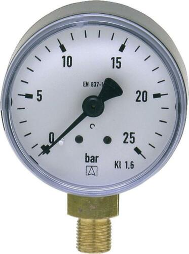 """Manometer oder Vakuummeter 50mm mit und ohne Glyzerin 1//8/""""  Ölpumpe einstellen"""