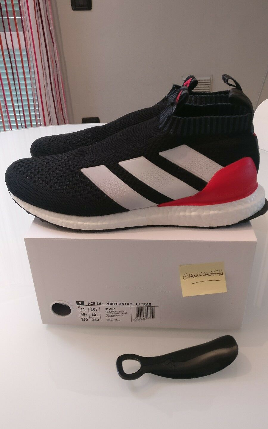 Adidas ACE 16+ purecontrol ultra boost us 11