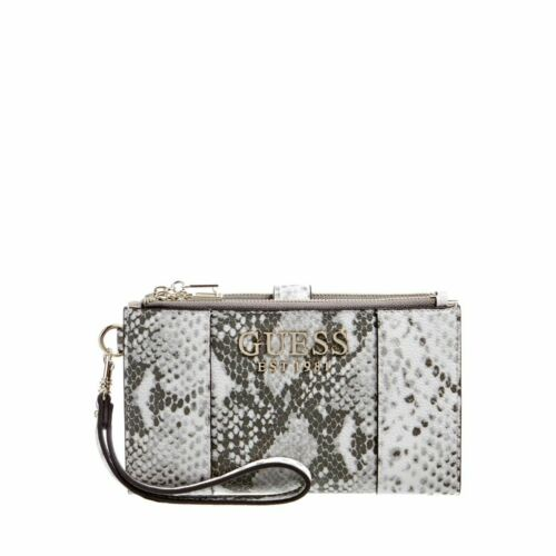 Guess Pg766957 Holly Slg Double Zip Organizer In Snake