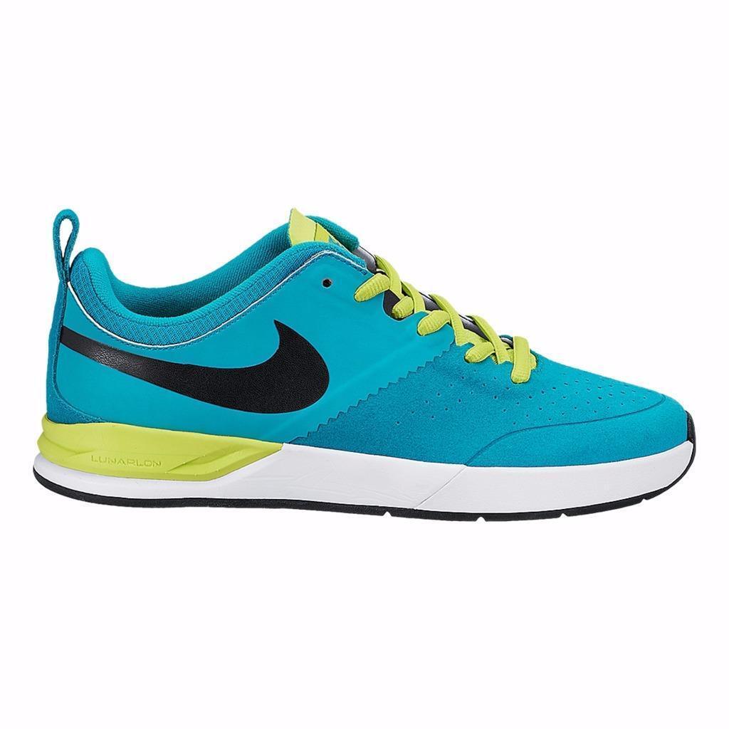 Nueva Nike Nike Nueva Hombre Project Ba Skateboard Shoes Turbo Verde / blanco 599698-316 confortable despacho venta de temporada b8cde4
