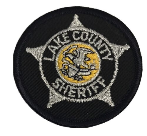 Lake County Illinois Sheriff Police Breast Patch