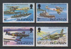 Isle-von-Mann-1978-Royal-Air-Force-Raf-Set-MNH-Sg-107-110