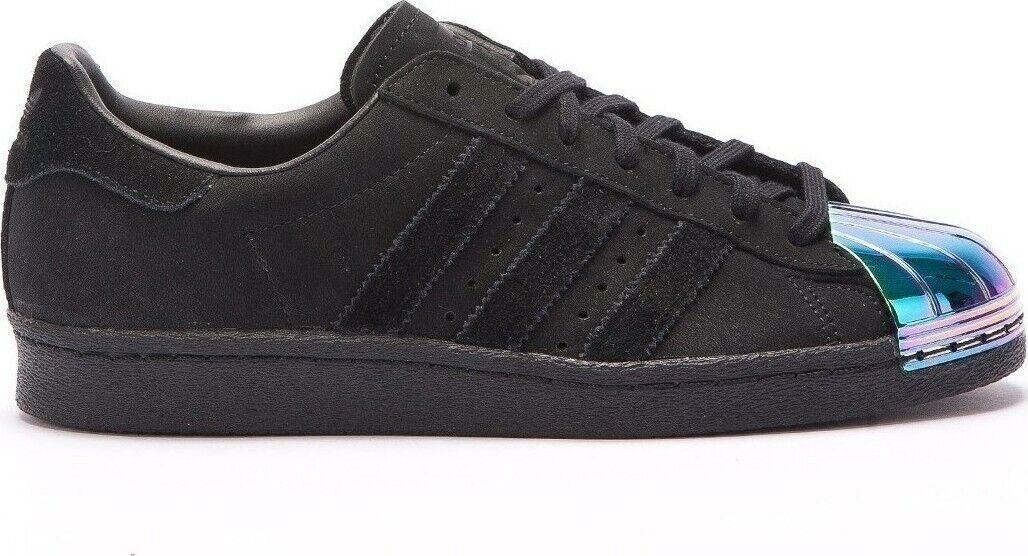 Adidas superstar 80s campus NMD Gr 36 2 3 metal schwarz schwarz wildleder S76710 Luxus