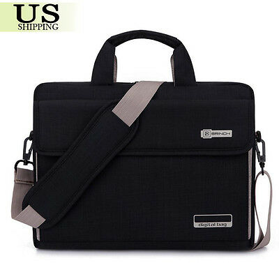 "15"" 15.6"" Notebook Laptop Sleeve Case Messenger Hand Bag For MacBook Pro HP DELL"