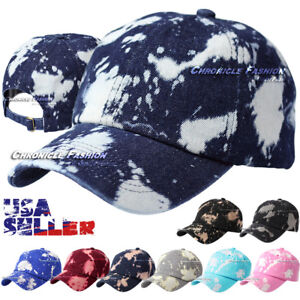 603778b0028 Washed Cotton Dad Hat Baseball Cap Polo Style Blank Solid Curved ...