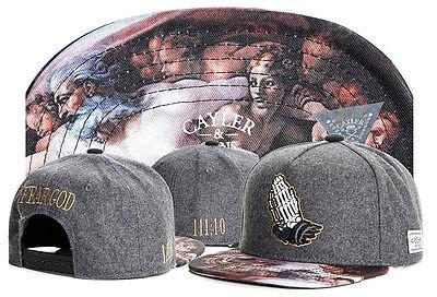 Hot Hip Hop Men's CAYLER Sons Hat adjustable Baseball Snapback Cool Cap Gray 89#