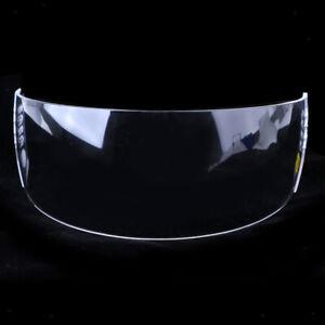 Hockey-Visor-Half-Shield-Pro-Cut-Clear-Senior-Anti-Fog-Anti-Scratch-w-Hardware
