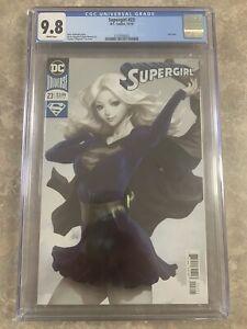 Supergirl-23-CGC-9-8-Artgerm-Lau-Cover-DC