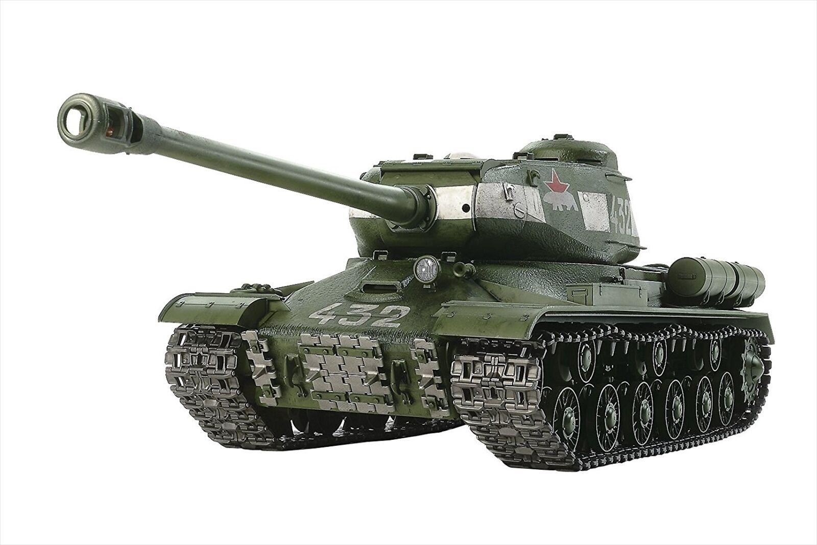 TAMIYA 1 16 R C No.34 RUSSIAN Pesado Tanque JS-2 1944 chkz operación completa conjunto 56034